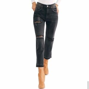FP: We The Free cropped high waisted jeans